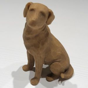 Willow Creek Love My Dog figurine